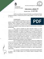 Resolución INET 850