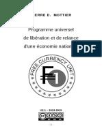 Programme Universel de relance économique
