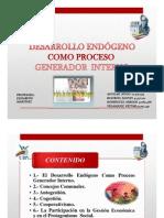 Desarrollo Endógeno Como Proceso Generador Interno