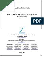 Gems & jewellery Feasibility Report