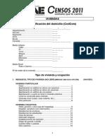 Cuestionario - Vivienda, Hogares y Personas