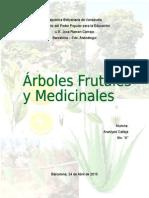 Arboles Frutales y Medicinales