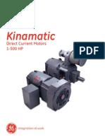 Kinamatic GEA - 18864 Brochure (GE Catalog)