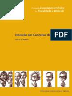 Livro Evolucao Dos Conceitos Da Fisica
