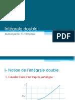 Intégrale Double