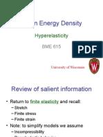 strain energy density function