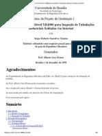 Guiagem Do Robô Móvel XR4000 Para Inspeção de Tubulações Industriais Soldadas via Internet