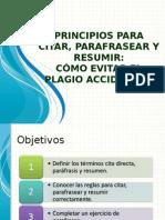 Citasresmenesyparafraseo Prof Efranfloresrcm 120524102910 Phpapp01