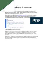 Belajar Mengedit Web Dengan Dreamweaver