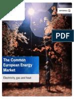 Common European Energy Market 2011
