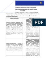 Perfil Profesional Ingeniero Civil Transporte