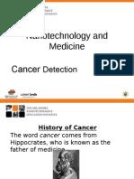 JH History of Cancer Presentation Updated September 2011