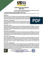 Programacion Cursos de Soldadura 1er Trimestre2015