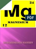 Ketidakseimbangan Magnesium