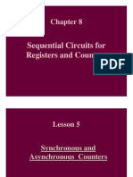 DIGITAL ELECTRONICS Synchronous & Asyn Counters