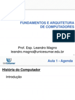 Aula 01 - Fund Arq Comp