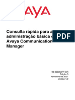 Manual Iniciante PABX AVAYA