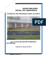 Perfil i.e.p Colpa - Chetilla