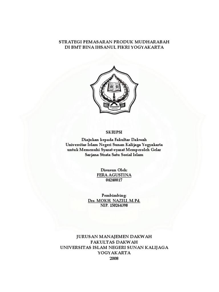 Skripsi Manajemen Dakwah