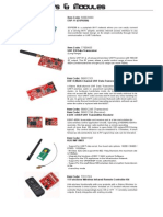 Wireless Kits & Modules for Gizduino Microcontrollers
