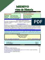 MEDIEVO Revista de Historia Nro 1 Marzo 2009