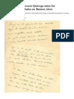 Un Poema de Horacio Quiroga Entre Los Manuscritos Hallados en Buenos Aires Artículo