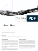 Water Safety Plan Manual WHO