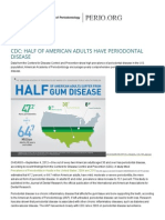 CDC_ Half of American Adults Have Periodontal Disease _ Perio