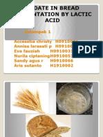 Bread Fermentation by Lactic Aci