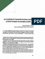 Transmissao Quotas Accoes Direito Portugues Dos Principios a Pratica