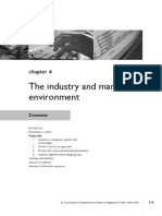Chap - 4 the Industry and Market Envioronment