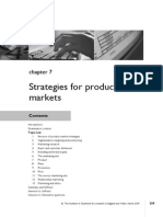 Chap - 7 Strategies for Business and Market