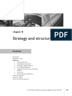 Chap - 8 Strategy and Structure