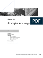 Chap - 14 Strategies for Change