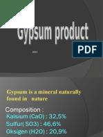 Biomaterial - Gypsum