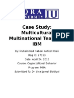 Analysis of the Case Study :Multicultural and Multinational Teams at IBM