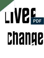 Lives Change