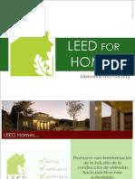LEED for Homes (Diplomado)