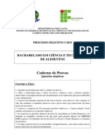 Caderno Questoes Fechadas PS 5 2015 CTA Venda Nova