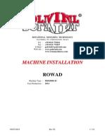Installation Machine Customers REV.02 C.140042-43 INGLESE