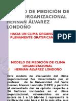 Modelo de Medicion de Clima Organizacional Hernan Alvarez