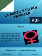 La Mujer y Su Rol Familiar