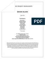 Excellence in State Public Health Law Rhode Island Highlights