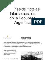 Presentacion Cadenas Hoteleras