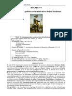BLOQUE 8. Historia España 2º Bach