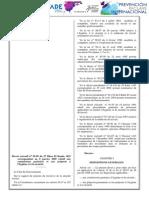Decreto Ejecutivo Nº 05-09. Tribunales Mixtos y Encargados de Seguridad e Higiene