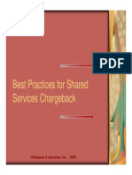 Shared Services Best Practices