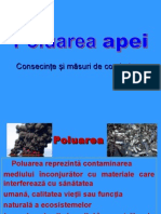 Consecinte Ale Poluarii Apei