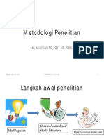 Metodologi Penelitian 2 Handout
