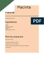 Placinta Paula